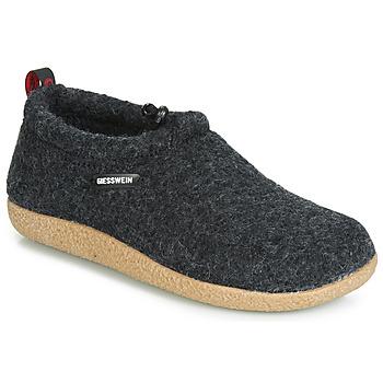 Topánky Ženy Papuče Giesswein VENT Antracitová