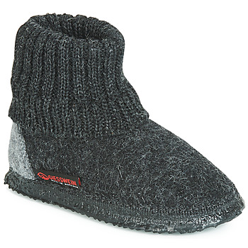 Topánky Muži Papuče Giesswein KRAMSACH Antracitová