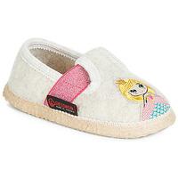 Topánky Dievčatá Papuče Giesswein THURNAU Béžová