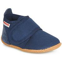 Topánky Chlapci Papuče Giesswein STRASS SLIM FIT Námornícka modrá