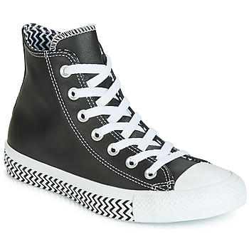 Topánky Ženy Členkové tenisky Converse CHUCK TAYLOR ALL STAR VLTG LEATHER HI Čierna