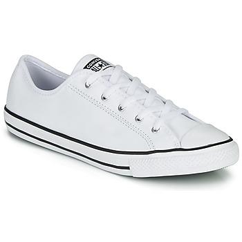 Topánky Ženy Nízke tenisky Converse CHUCK TAYLOR ALL STAR DAINTY GS  LEATHER OX Biela