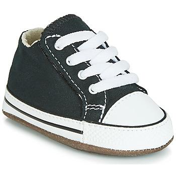 Topánky Deti Členkové tenisky Converse CHUCK TAYLOR ALL STAR CRIBSTER CANVAS COLOR  HI Čierna