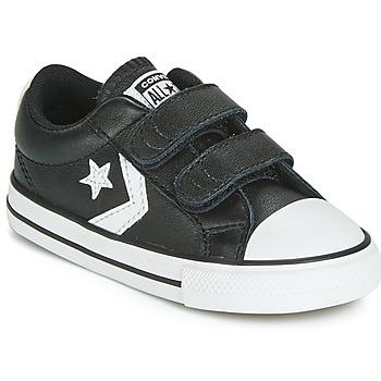 Topánky Deti Nízke tenisky Converse STAR PLAYER EV 2V  LEATHER OX Čierna
