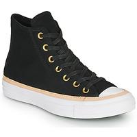 Topánky Členkové tenisky Converse CHUCK TAYLOR ALL STAR VACHETTA LEATHER HI Čierna