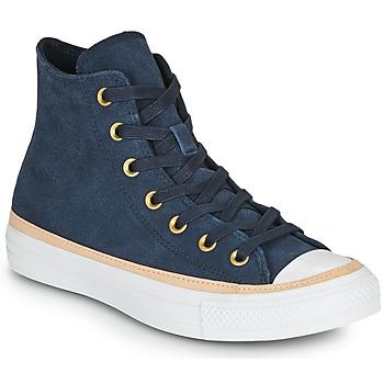 Topánky Členkové tenisky Converse CHUCK TAYLOR ALL STAR VACHETTA LEATHER HI Námornícka modrá