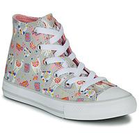 Topánky Dievčatá Členkové tenisky Converse CHUCK TAYLOR ALL STAR LLAMA HI Šedá / Viacfarebná