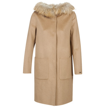 Oblečenie Ženy Kabáty Oakwood YALE BI Ťavia hnedá / Šedá