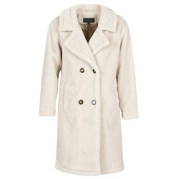 Oblečenie Ženy Kabáty Oakwood AMAZING Béžová