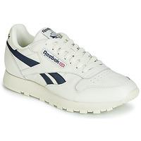 Topánky Nízke tenisky Reebok Classic CL LEATHER MU Biela / Čierna