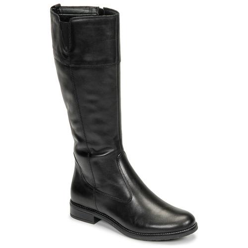Topánky Ženy Čižmy do mesta Tamaris CARI Čierna