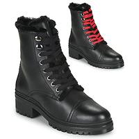 Topánky Ženy Polokozačky Unisa IRACHE Čierna
