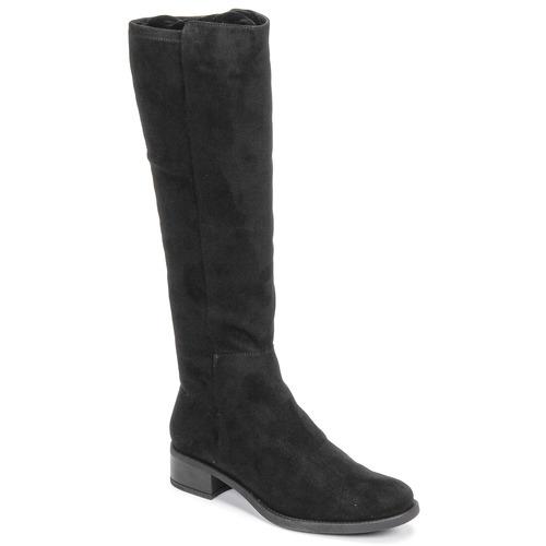Topánky Ženy Čižmy do mesta Unisa ELIZA Čierna