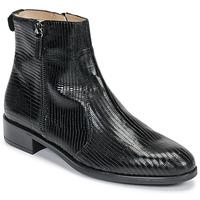 Topánky Ženy Polokozačky Unisa BRAS Čierna