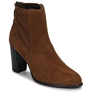 Topánky Ženy Čižmičky Unisa UNDER Hnedá