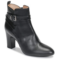 Topánky Ženy Čižmičky Unisa UMBRIA Čierna