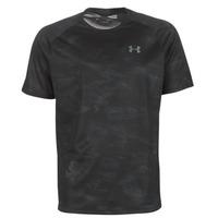 Oblečenie Muži Tričká s krátkym rukávom Under Armour TECH 2.0 SS PRINTED Čierna