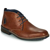 Topánky Muži Polokozačky Rieker F1310-26 Hnedá