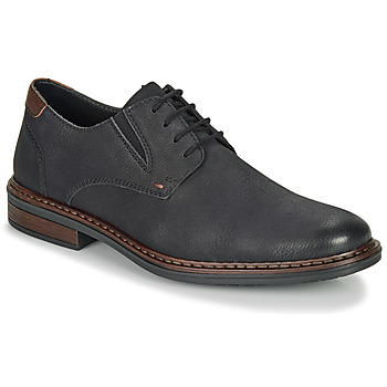 Topánky Muži Derbie Rieker 17600-03 Čierna