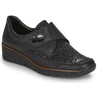 Topánky Ženy Nízke tenisky Rieker 537C0-02 Čierna