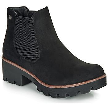 Topánky Ženy Čižmičky Rieker 99284-02 Čierna