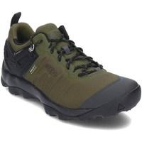 Topánky Muži Turistická obuv Keen 1021169 Čierna, Olivová