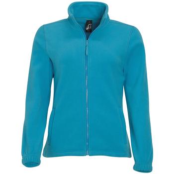 Oblečenie Ženy Flísové mikiny Sols NORTH POLAR WOMEN Azul