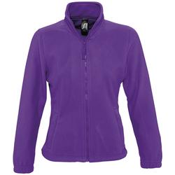 Oblečenie Ženy Flísové mikiny Sols NORTH POLAR WOMEN Violeta