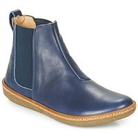 Topánky Ženy Polokozačky El Naturalista CORAL Modrá