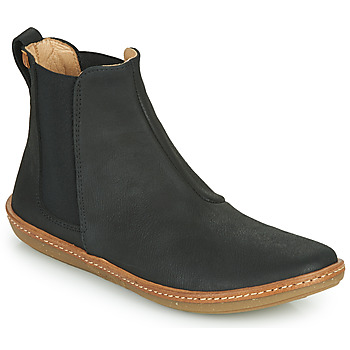 Topánky Ženy Polokozačky El Naturalista CORAL Čierna