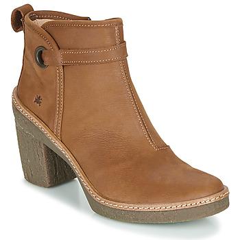 Topánky Ženy Čižmičky El Naturalista HAYA Hnedá