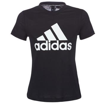 Oblečenie Ženy Tričká s krátkym rukávom adidas Performance DY7734 Čierna