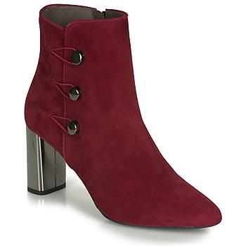 Topánky Ženy Čižmičky Perlato 11312-CAM-ROUGE Červená