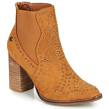 Topánky Ženy Čižmičky Xti AMELIO Ťavia hnedá