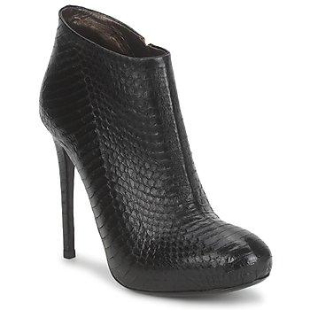 Topánky Ženy Čižmičky Roberto Cavalli TRONCHETTO čierna