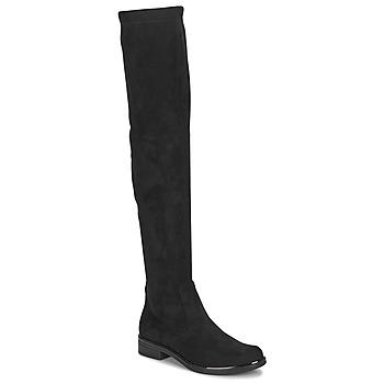 Topánky Ženy Cizmy Nad Kolenà Caprice LITIA Čierna