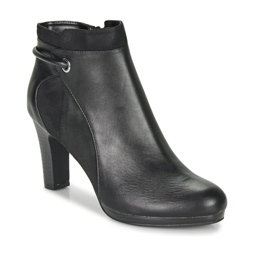 Topánky Ženy Čižmičky Moony Mood FAZIOME Čierna