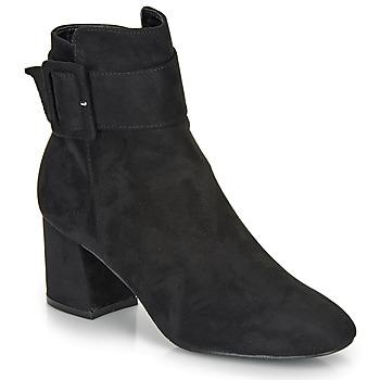 Topánky Ženy Čižmičky Moony Mood FAZIOLE Čierna