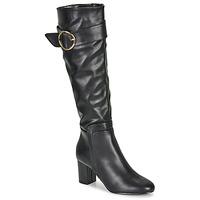 Topánky Ženy Čižmy do mesta Moony Mood FIMMINI Čierna