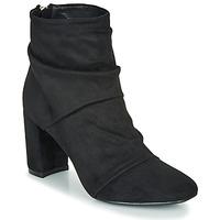Topánky Ženy Čižmičky Moony Mood FIRETTE Čierna