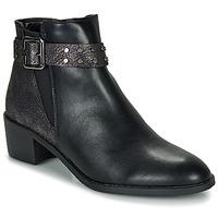 Topánky Ženy Polokozačky Moony Mood FLOURETTE Čierna