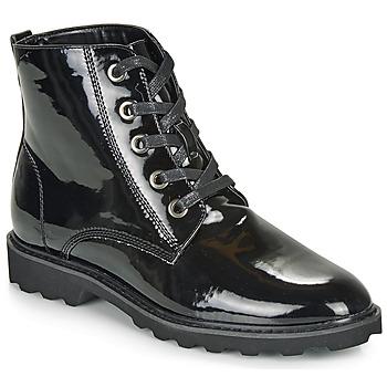Topánky Ženy Polokozačky Moony Mood FRULIN Čierna