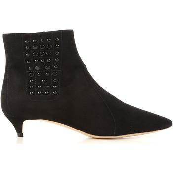 Topánky Ženy Polokozačky Tod's XXW17B0Z770HR0B999 nero