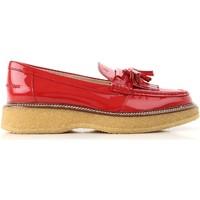 Topánky Ženy Mokasíny Tod's XXW30B0AK700W0R402 Rosso vivo
