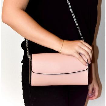 5804a151c2 Tašky Ženy Spoločenské kabelky John-C Dámska ružová kabelka AVORA hnedá