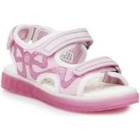 Topánky Deti Športové sandále Geox J Sblikk GB Ružová