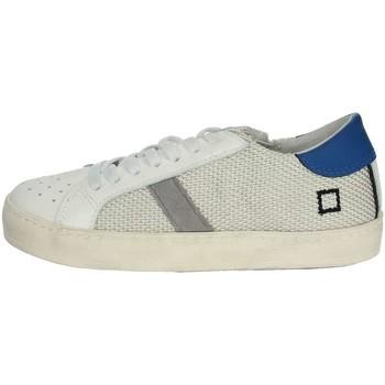 Topánky Chlapci Nízke tenisky Date HILL LOW-T White/Light Blue