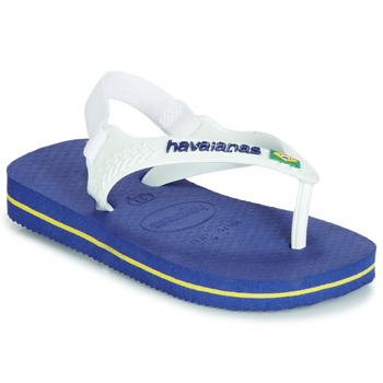 Topánky Deti Sandále Havaianas BABY BRASIL LOGO Námornícka modrá