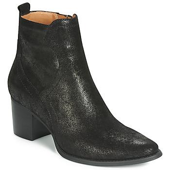 Topánky Ženy Polokozačky Karston APIVA Čierna