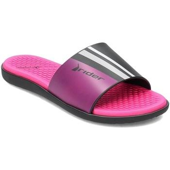 Topánky Ženy športové šľapky Rider 8261122295 Čierna,Ružová